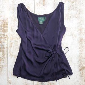Silk Ralph Lauren top